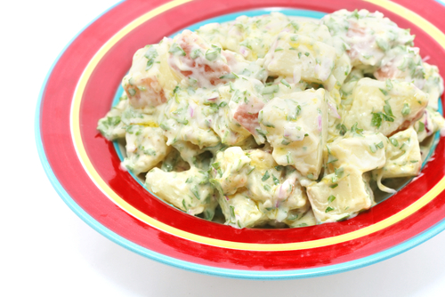 Yogurt Potato Salad
