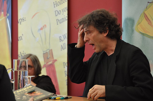 Neil Gaiman: 'My God, is that the Bookwitch!'