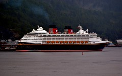 Cruise ship - Disney Wonder - Alaska