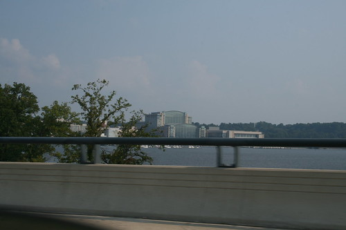 Gaylord in view from Woodrow Wilson bridge