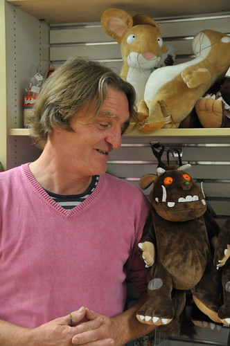 Melvin Burgess and the Gruffalo