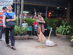 Sweeper, Chatuchak Weekend Market