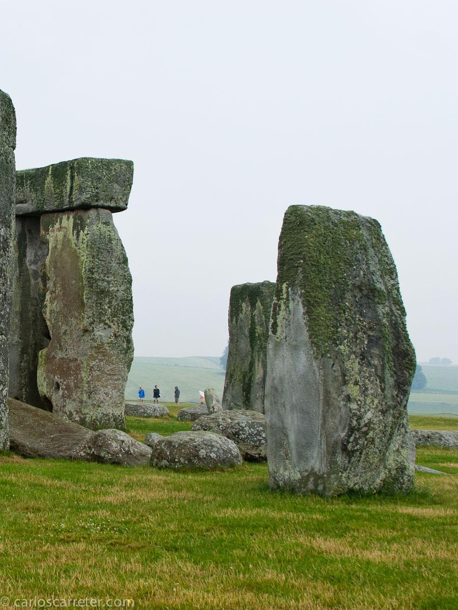 Megalitos en Stonehenge