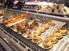 Cakes on display, Brunetti's Singapore, Tanglin Mall
