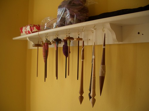 Spindle Shelf