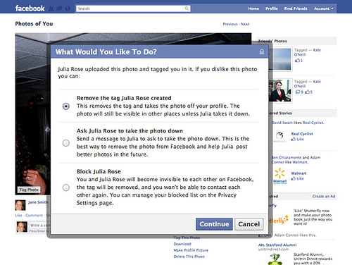 Facebook's new privacy and sharing features