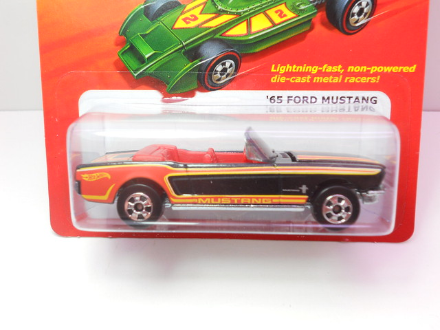 hot wheels hot ones '65 ford mustang (2)
