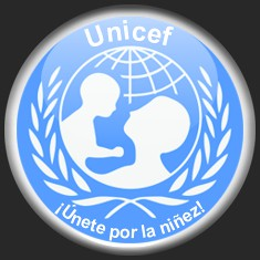 Botón UNICEF