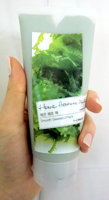 face shop seaweed mud mask