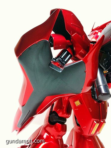 MG Sazabi Metallic Coating (Titanium-Like Finish) (55)