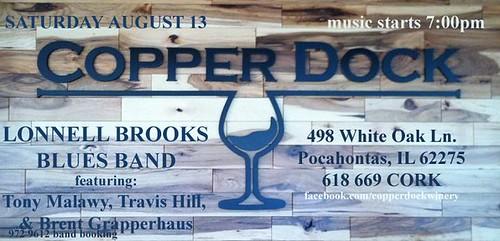 Copper Dock 8-13-11