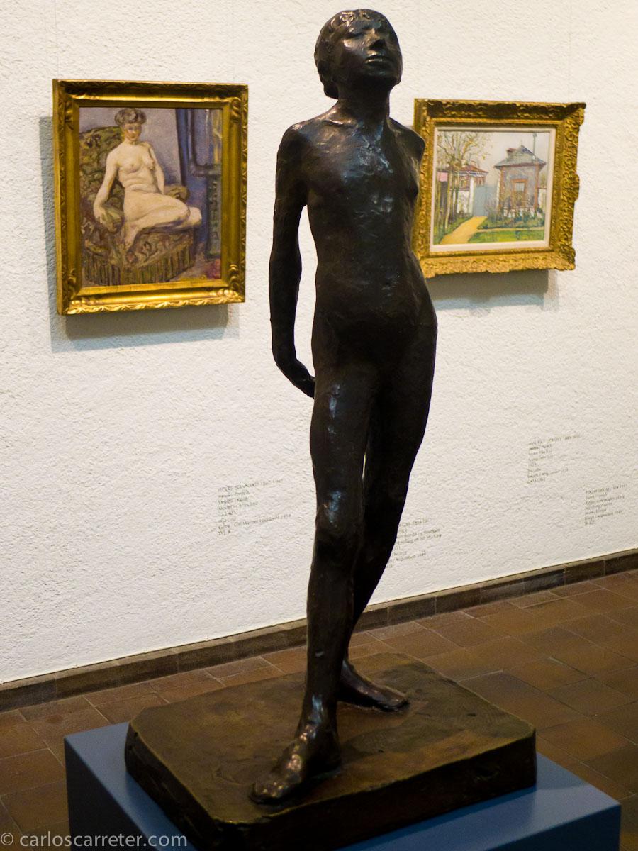 Esbozo de la bailarina de Degas (Konstmuseum)