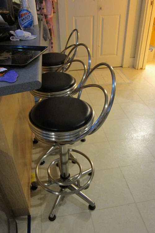New Kitchen Stools