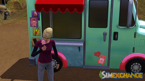 SimsExchange and The Pets Ice Cream Truck