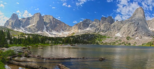 Cirque of the Towers from Lonesome Lake, Wind River Range, Wyoming by i8seattle