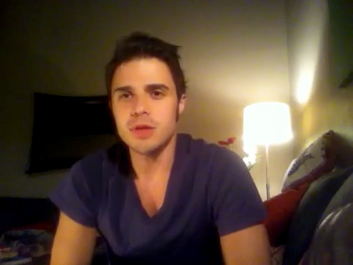 Kris Allen sophomore album update screen capture picture