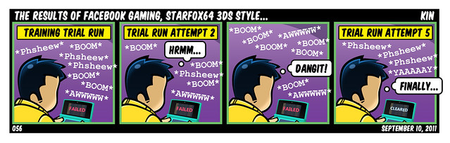 The Results Of Facebook Gaming, StarFox 64 3DS Style...