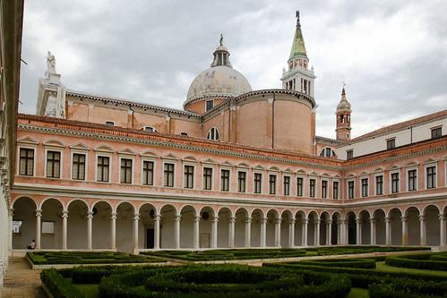 Venezia - Monastero di San Giorgio - Chiostro del Palladio