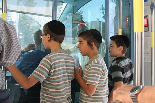 Jerusalem Light Rail, Opening Day