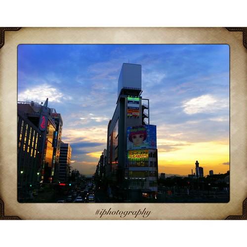 今日も一日、お疲れさまでした。( ´ ▽ ` )ノ #sunset #iphonography #instagram
