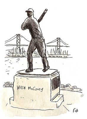 willie mccovey statue