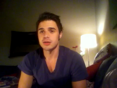 Kris Allen sophomore album update screen capture picture 13