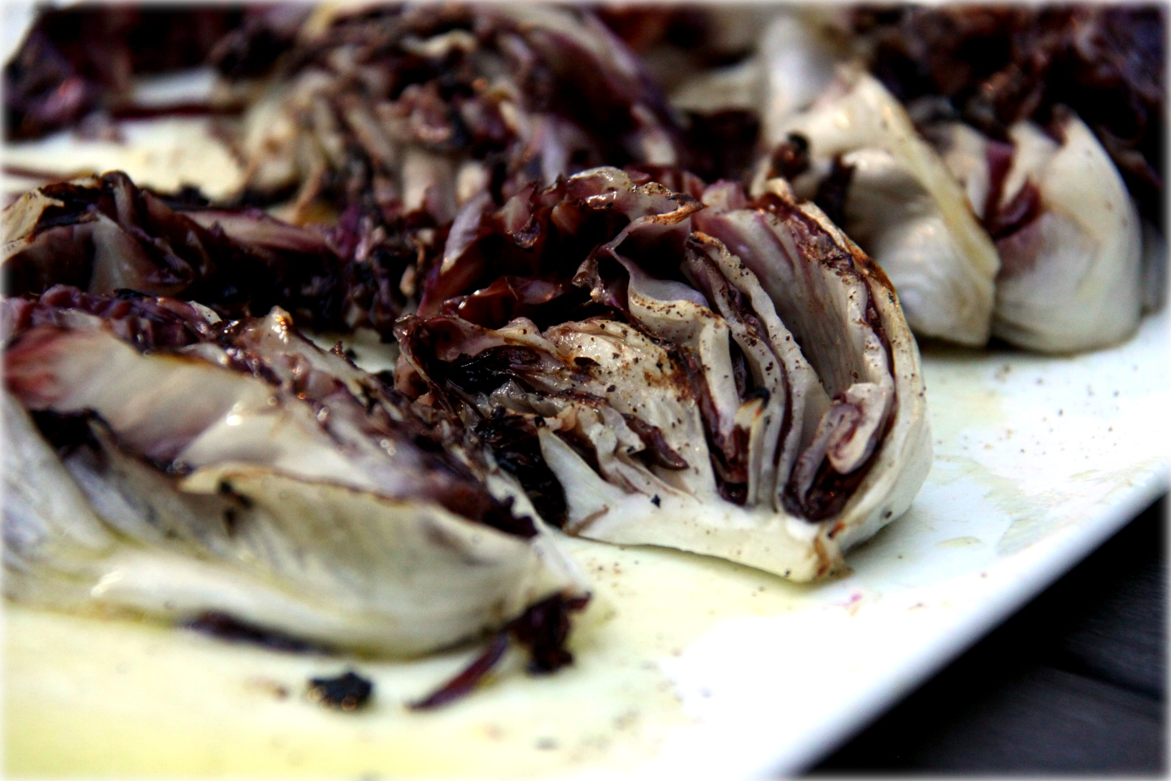 finished radicchio