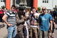 The guys with Johnny Depp