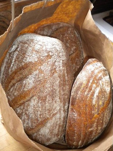 Bread made from our flour!