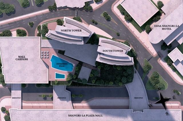 One Shangri-La Place site development plan
