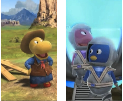 Backyardigans - Cowboys & Aliens