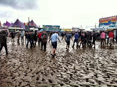 Mud at the Reading Festival