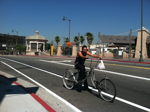 Boyle Heights bicyclist