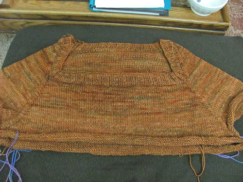 sweater bodice complete