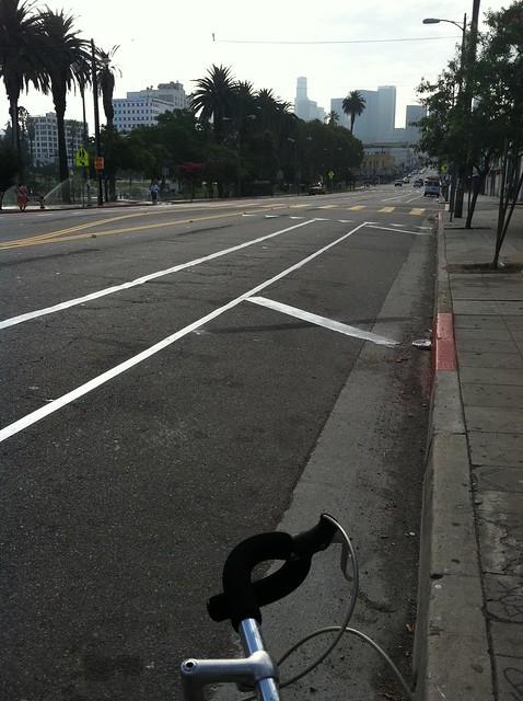 MacArthur Park bike lanes