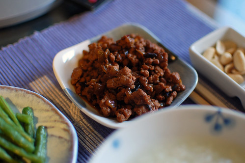 Minced Pork with Chilli Black Bean Sauce