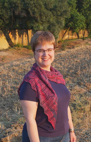Cleite Shawl: front