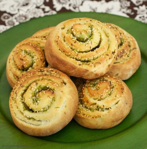 Scallion Bread 2
