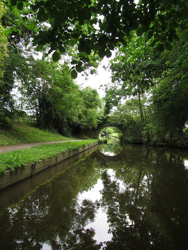 A calm day on The Llangollen Canal