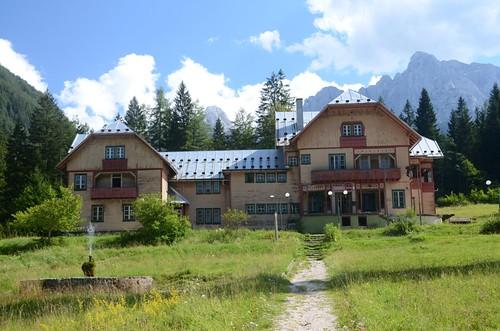 Slowenien: Knica-Hütte