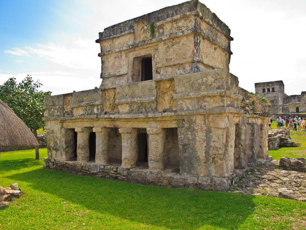 One of the Tulum ruins