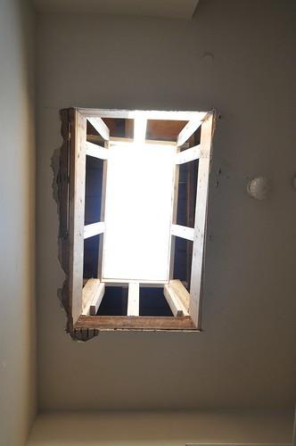 Crooked skylight