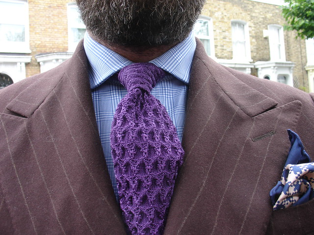 Tom Ford Silk Knit Tie