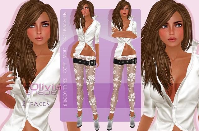 Olivia shape by DagMar Shapes