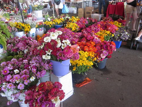 Flowers at Sacramento Farmers' Market