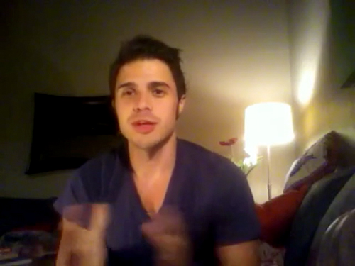 Kris Allen sophomore album update screen capture picture 26