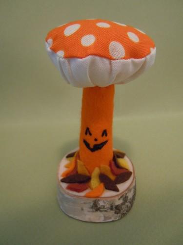Pumpkin Mushroom Plush