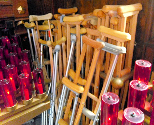 crutches - Martyrs' Shrine Midland Ontario by William J. Gibson, the Canuckshutterer