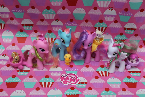 229/365  My Little Ponies