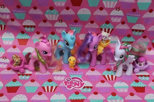 229/365  My Little Ponies